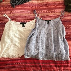 TWO FOR ONE Forever 21 tanks